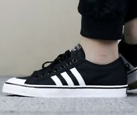 Adidas Nizza Originals Men's Shoes size 9.5 black/white CQ2332