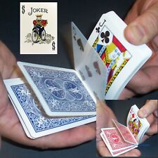 Svengali Color Joker Deck, Magic Card Trick, Bicycle Red or Blue, Short Long