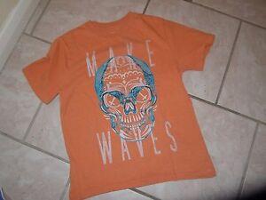 GAP KIDS Orange Short Sleeved T-shirt Size 6-7 yrs