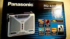 VINTAGE PANASONIC WALKMAN PERSONAL CASSETTE RECORDER RQ-A200