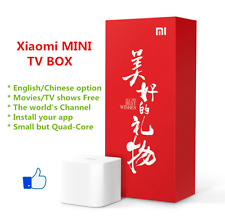 Mi Box/Xiaomi Box MINI Mi TV Box 1080P English Google TV Player海外越狱版/原装正版最新小米4代
