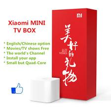 小米4代原装正版海外越狱版 Xiaomi MINI Box Wifi Box 1080P HDMI TV English Google TV Player