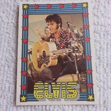1978 Monty Gum - ELVIS PRESLEY - Club Card From Holland - (Blank Back) - Card 19
