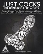Coloring Books For Adults Just Cocks Penis Mandala Stress Relieving Relax Art 25