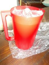 New Tupperware 1 Gallon Pitcher RED