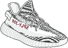 23278991b Yeezus Kanye Adidas Yeezy 750 Gum Sticker Decal Supreme Sneaker Hype 5x3  Inches Art