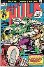 The Incredible Hulk Comic Book #164, Marvel Comics 1973 VERY FINE-