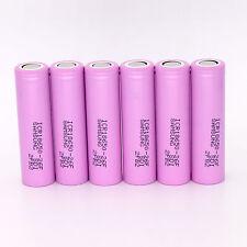 6PCS Samsung 2600mAh 3.7V ICR18650-26F/FM Li-ion Rechargeable Battery