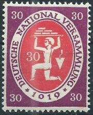 Assemblea nazionale MiNr. 110c igeprüft E. Peschl e post freschi