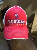 Ole Miss Rebels Col Colonel Reb Hat Cap Cap smith Inc D-1