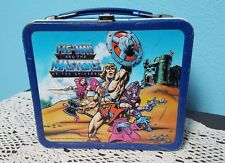 Vtg Metal Lunch Box No Thermos He-Man & The Masters of the Universe '84