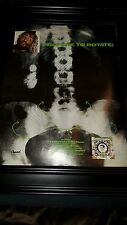George Clinton R&B Skeletons In The Closet Rare Original Promo Poster Ad Framed!