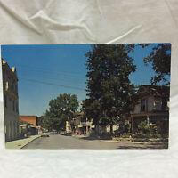 Vintage Postcard Walnut Avenue Lakeside Ohio