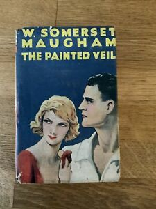 The Painted Veil W.Somerset Maugham 1920/30s The Novel Library VGC Dust Jacket