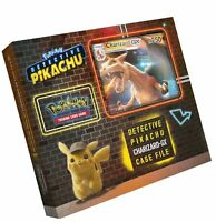Pokemon TCG: Detective Pikachu Charizard-Gx Case File + 6 Booster Pack + A Fo...