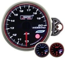 PROSPORT 52mm Premier White Blue Amber Led Wideband Air Fuel Ratio Gauge