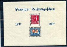 GERMANY DANZIG 1937 SCOTT B21a SHEET PERFECT MNH