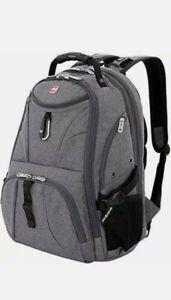 SWISSGEAR 1900 Scansmart TSA Laptop Backpack - Gray