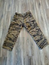 Columbia PHG Performance Hunting Gear Camo Recycled Wool Pants Men's 38 Cargo