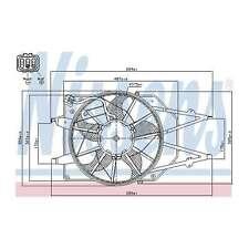 Fits Ford Focus MK1 1.8 16V Genuine Nissens Engine Cooling Radiator Fan