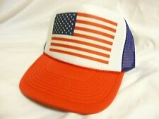 USA Flag World Cup Soccer 2014 Trucker Hat Snapback hat Adjustable United States