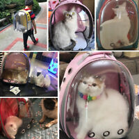Portable Pet Puppy Cat Travel Carrier Backpack Dog Space Capsule Shoulder Bags