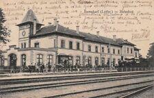 676154) AK Bahnhof Bensdorf Lothringen