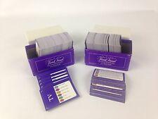 Trivial Pursuit TV Edition Trivia Card Set Purple Box 796 Cards Only