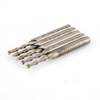 5Pcs Extra Long 3mm 2 Flute HSS Aluminium Extended End Mill Cutter CNC Bit Tool