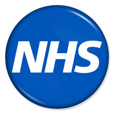 "NHS British National Health Service 25mm 1"" Pin Badge Button Doctors Nurses"