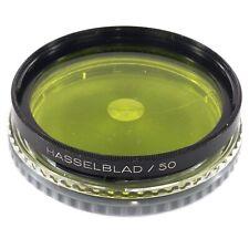 Hasselblad B50 2x YG -1 Yellow Green for Older C Planar 80 100 135 Sonnar 150