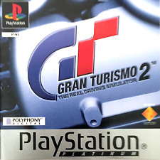 Gran Turismo 2 Sony Playstation PS1 Game Excellent Boxed with Manual
