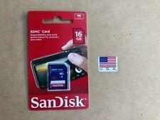 SanDisk Flash 16 GB SDHC Flash Memory Card SDSDB-016G-035