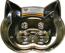 Our Pets Metalshield Cat Face Dish     Free Shipping