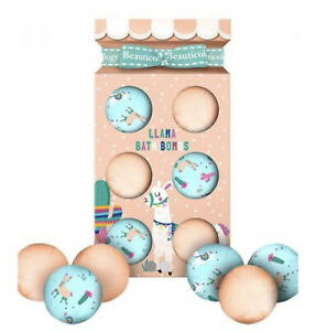 Baylis & Harding BEAUTICOLOGY Llama Bath Bombs Girls Christmas Gift Set 2021