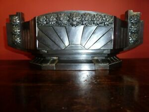 Original 1920's Art Deco Metal trough/Planter with Liner