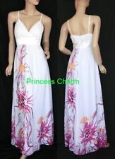 Regular Size Floral Polyester Maxi Dresses for Women