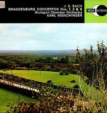 BACH: Brandenburg Concertos Nos. 1, 3 & 6 * Munchinger Stuttgart CO * DECCA 1970
