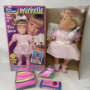 Full House Vintage Talking Michelle Doll Mary-Kate & Ashley 1990 NEW/ Open Box