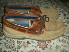 Sperry 0777119 Boat Shoes 2 Tone Brown Dark Brown Mens Size 11M