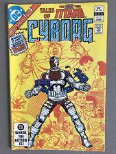 Tales of the New Teen Titans #1 Cyborg (Jun 1982, DC Comics) F/VF ORIGIN