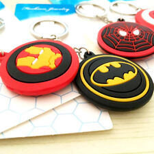 Exquisite Avengers Super Heroes Ironman Spiderman Superman Pendant Keyring 2018