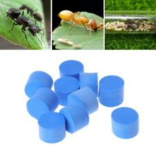 10pcs Ant Farm Plug 15mm For Insect Nest Water Block Tube Moisture Feeding