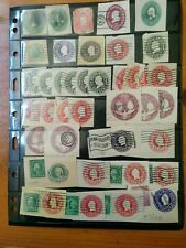 USA Cut Square Stamp Collection