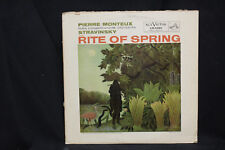 Monteux Paris Conservatory Stravinsky Rite of Spring - RCA Red Seal  1957