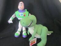 TOY STORY - BUZZ & REX Plush / Soft Toy  BRAND NEW Licensed