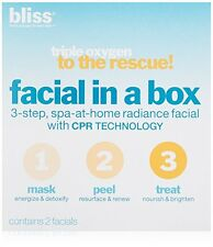 bliss Triple Oxygen to the Rescue Facial in a Box Set