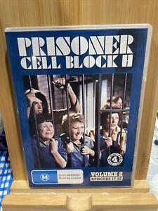 Prisoner Cell Block H DVD Volume 2 Episodes 17-32 4 disc set Rare Region All