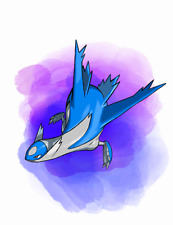 Ultra Pokemon Sun and Moon Year of the Legendary 2018 Latios 6IV-EV Trained