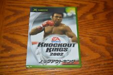 XBox Knockout Kings 2002 Japan import US Seller New!